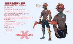 Berserker Gijinka by Billiam-X