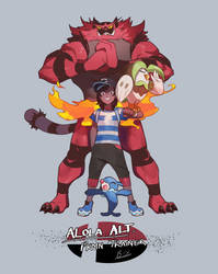 SSBU PKMN Trainer: Alola Alt by Billiam-X