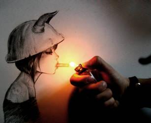 Smoking by Giurio