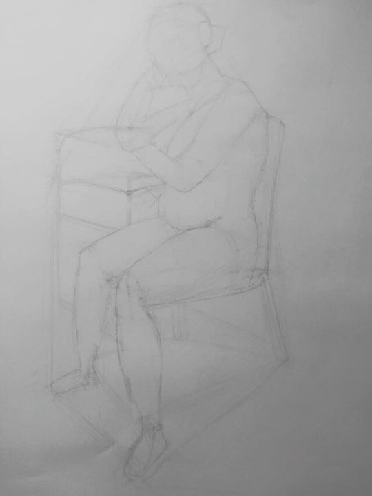 figure drawing by Ethan4