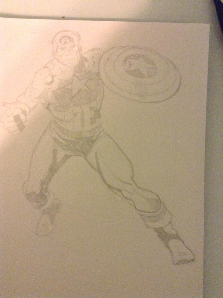 captain America by Ethan4