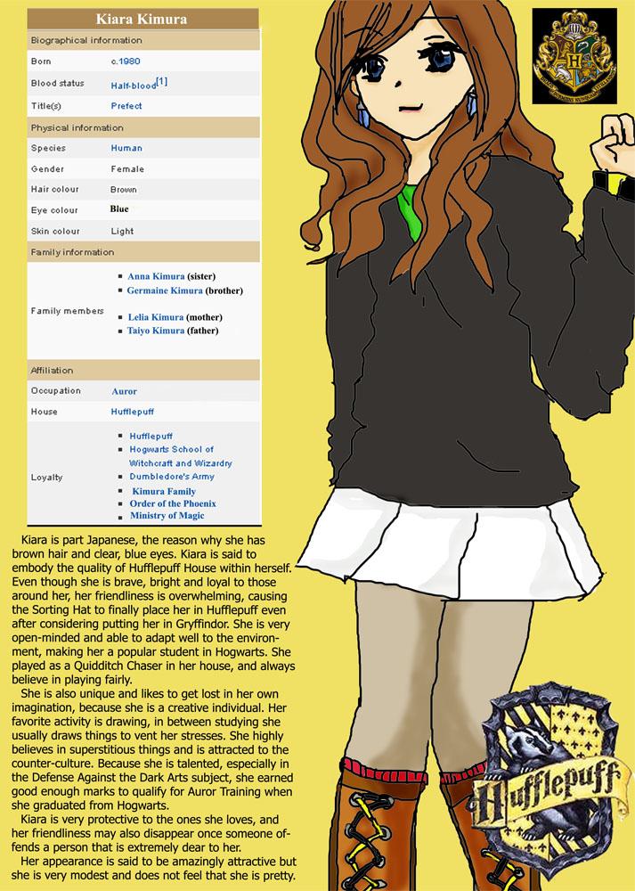 Harry Potter OC: Kiara Kimura by newspaperfan on DeviantArt