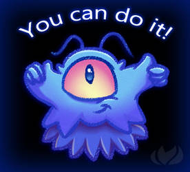 You Can Do It by raininess