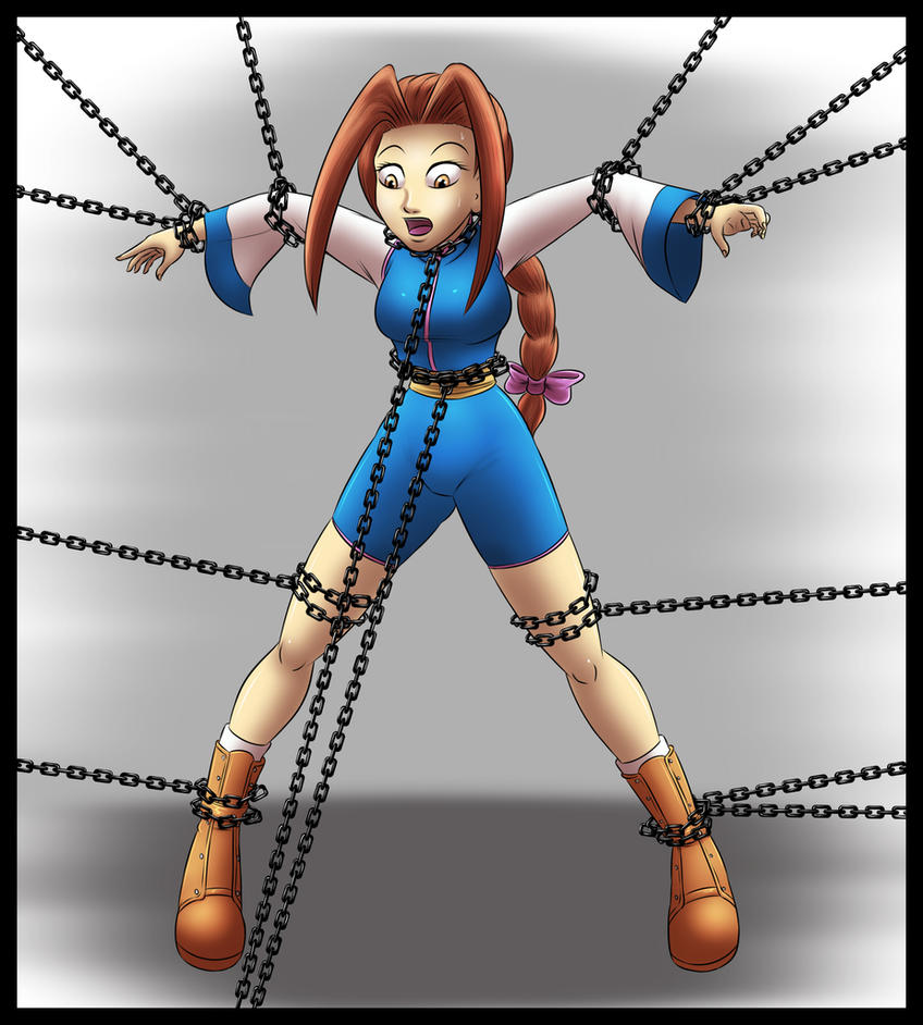 Commiss - Uriko in Chains by Humite-Ubie