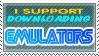 Emulators Stamp by MikomiDarkLightning