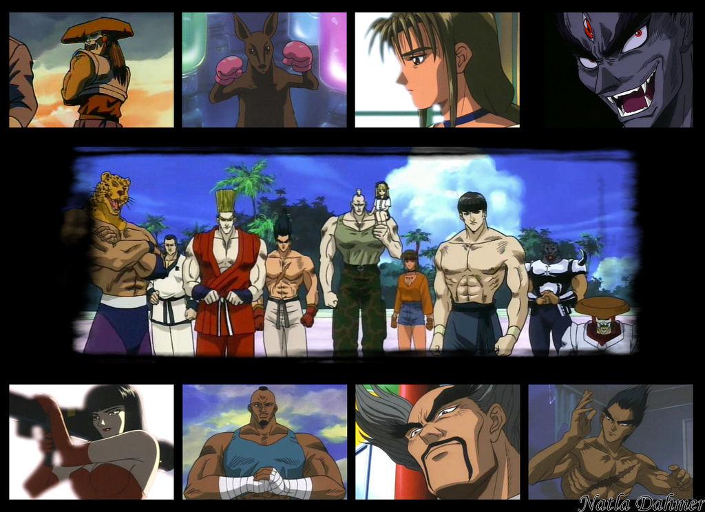 Tekken The Motion Picture Wallpaper By Natladahmer On Deviantart