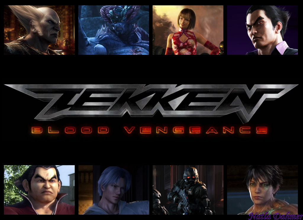tekken blood vengeance full movie japanese