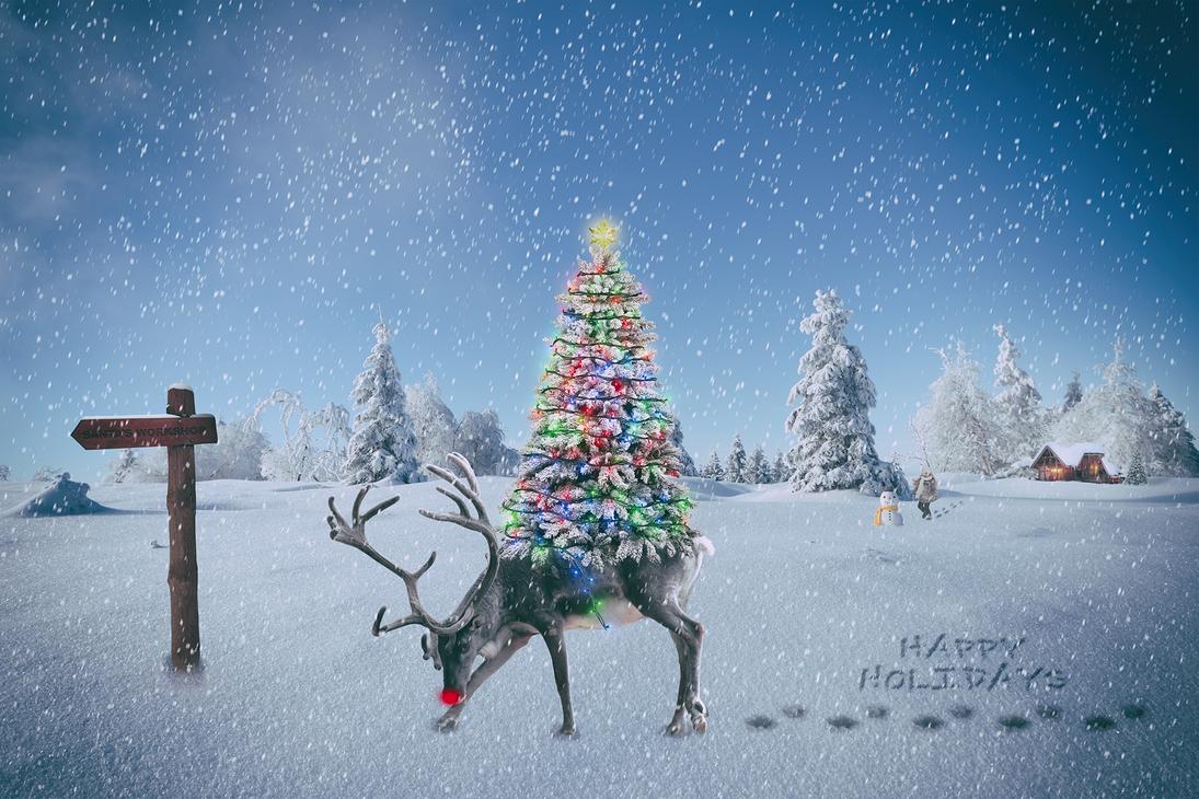 Santa's Helper by cindywoo