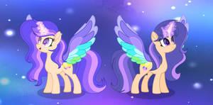 Rainbow Wings Sisters