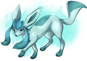 Glaceon by IiIith
