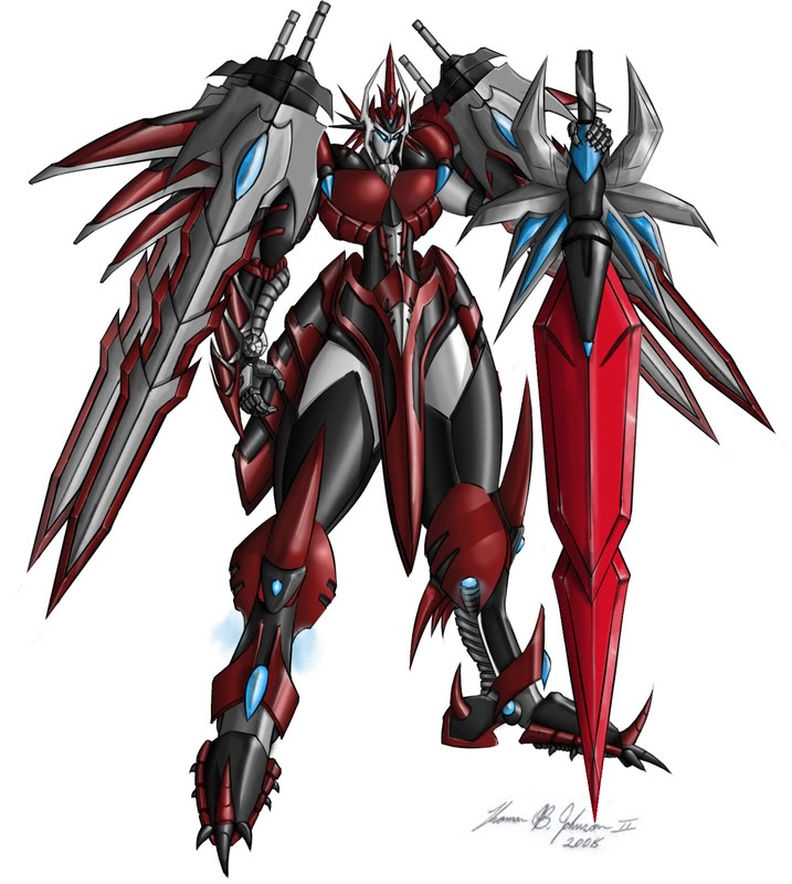Mech Blood Sword by daimus888