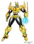 Mech Golden Nemesis