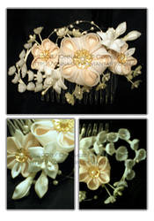 Wedding comb by Corselia