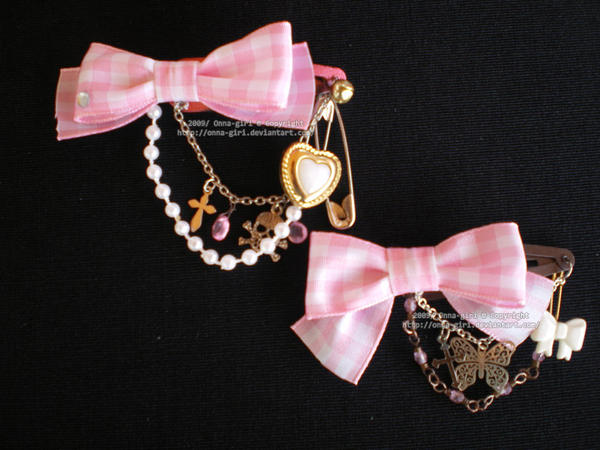 Pink Ribbon Set by Corselia