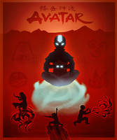 Avatar: The last airbender by Draakh