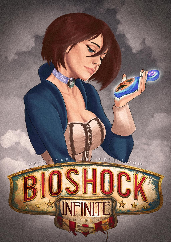 Bioshock Infinite: Elizabeth Comstock FanArt by OSCARINXART