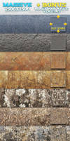 10 Natural Rock / Stone Patterns + BONUSES