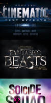 Cinematic 3D Title Text Effects Vol 8