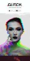 Glitch Photoshop Action by Kluzya