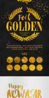 Gold Text Effects Vol.2