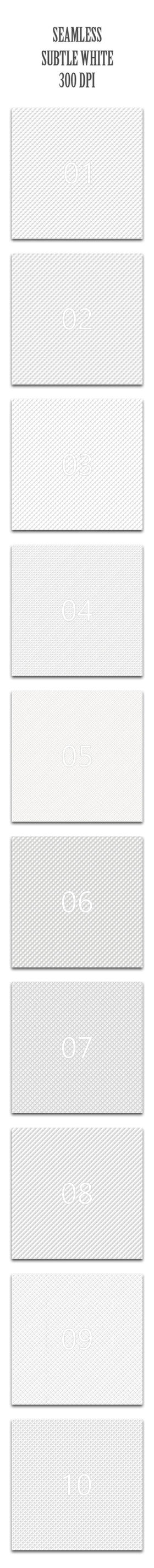 Seamless Subtle White by Kluzya