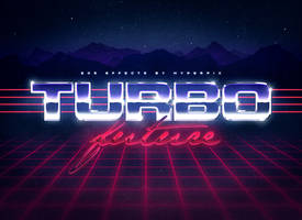 80s Text Effects by Kluzya