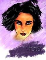 Violet by rjakobson