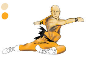 Shao Lin Flying Monk