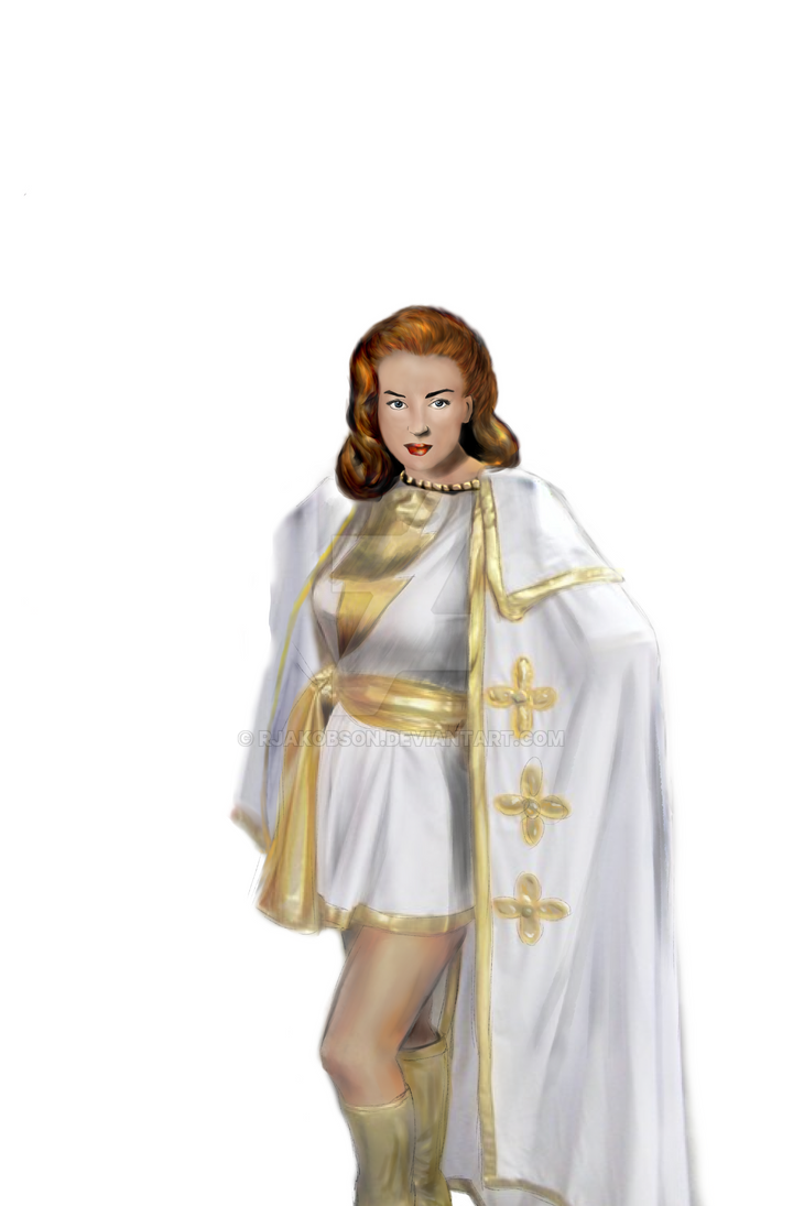 Mary Marvel by rjakobson