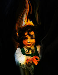 Creepy Doll by rjakobson