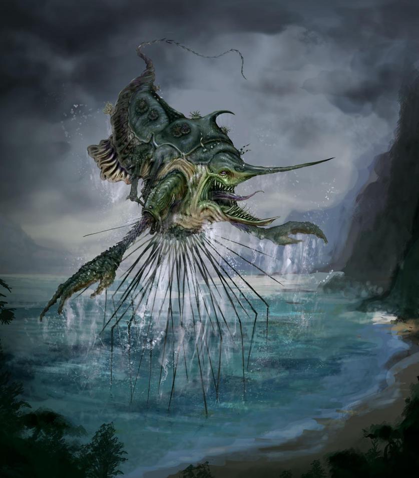 Kraken by Doguin on DeviantArt