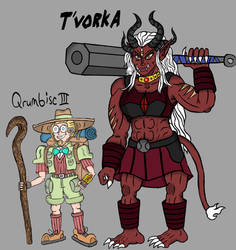 Tales of Alethrion: Qrumbisc III and T'vorka