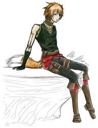 Royalty AU: Witch Junior (Lavi)