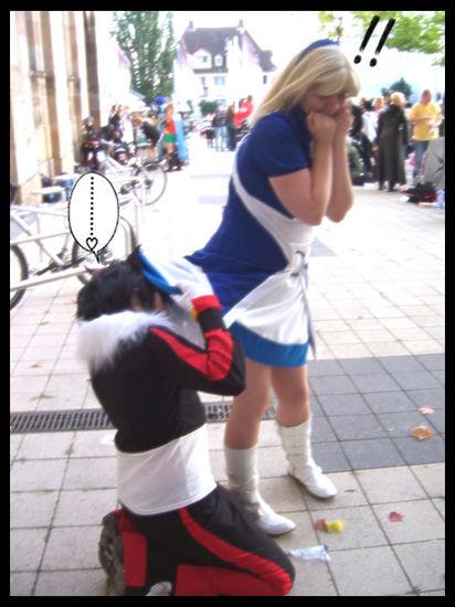 Human shadow the hedgehog cosplay