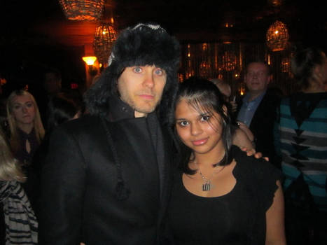 Me and Jared Leto