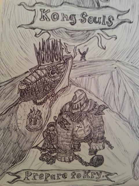 Kong Souls. by Baron-Klatz