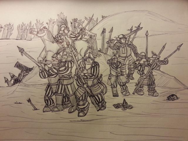 Rally, men of the Empire! by Baron-Klatz