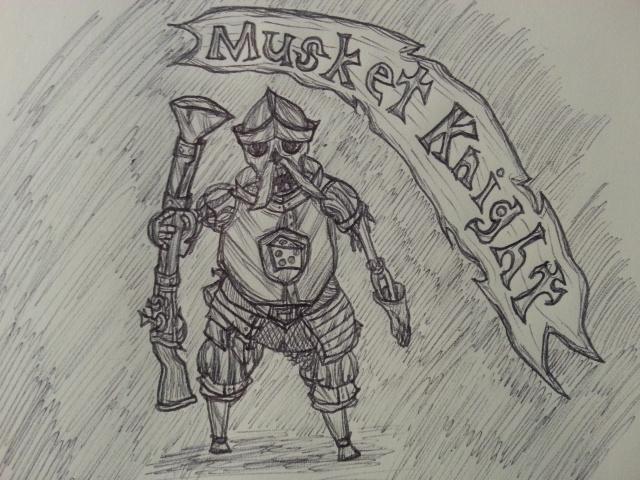 MediEvil: Musket Knight by Baron-Klatz on DeviantArt