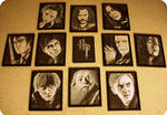 The Harry Potter Project Completed Art Collection
