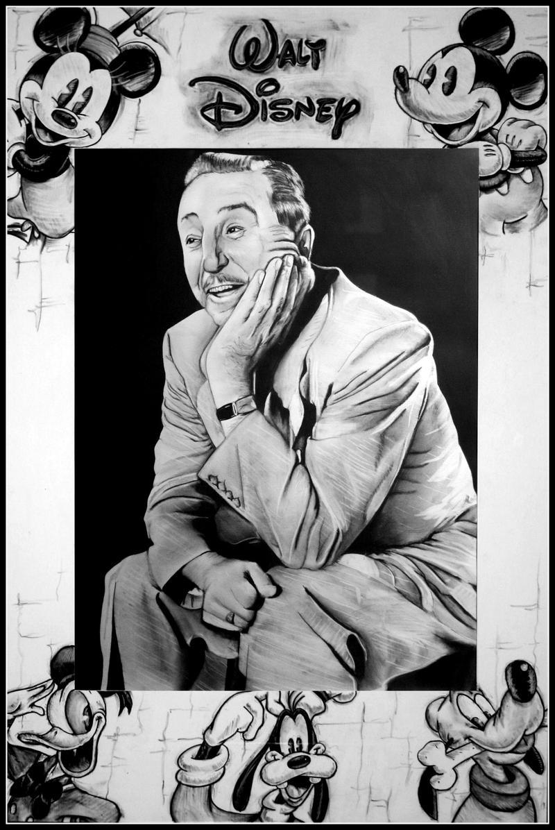 Walt Disney Tribute by artbyjoewinkler