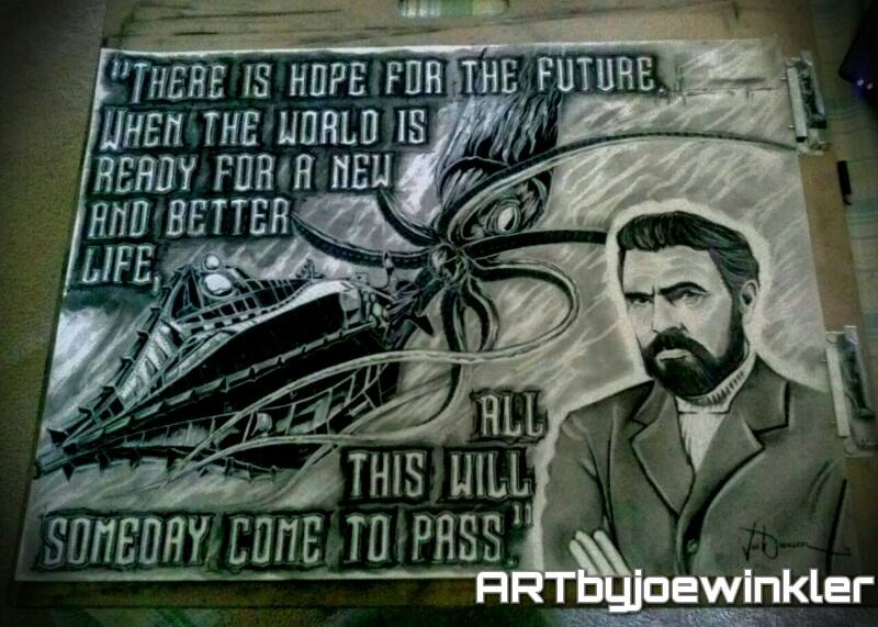 20,000 Leagues Under The Sea Tribute Commission by artbyjoewinkler