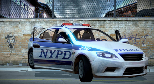Ford Mondeo NYPD Rigged (ReUpload