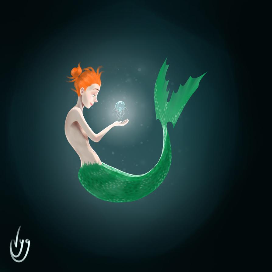 The Little Mermaid by Viyusgi