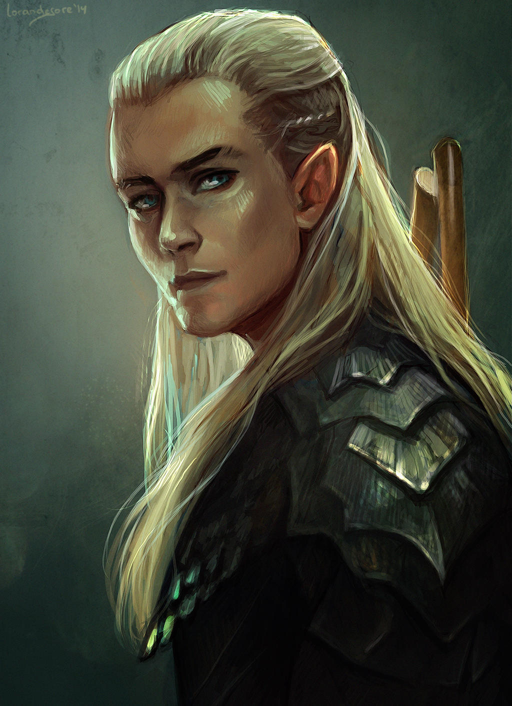 Legolas by LoranDeSore on DeviantArt