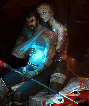 Hawke and Anders(Justice)
