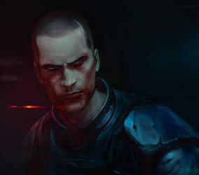 Shepard by LoranDeSore