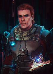 Scott Ryder by LoranDeSore