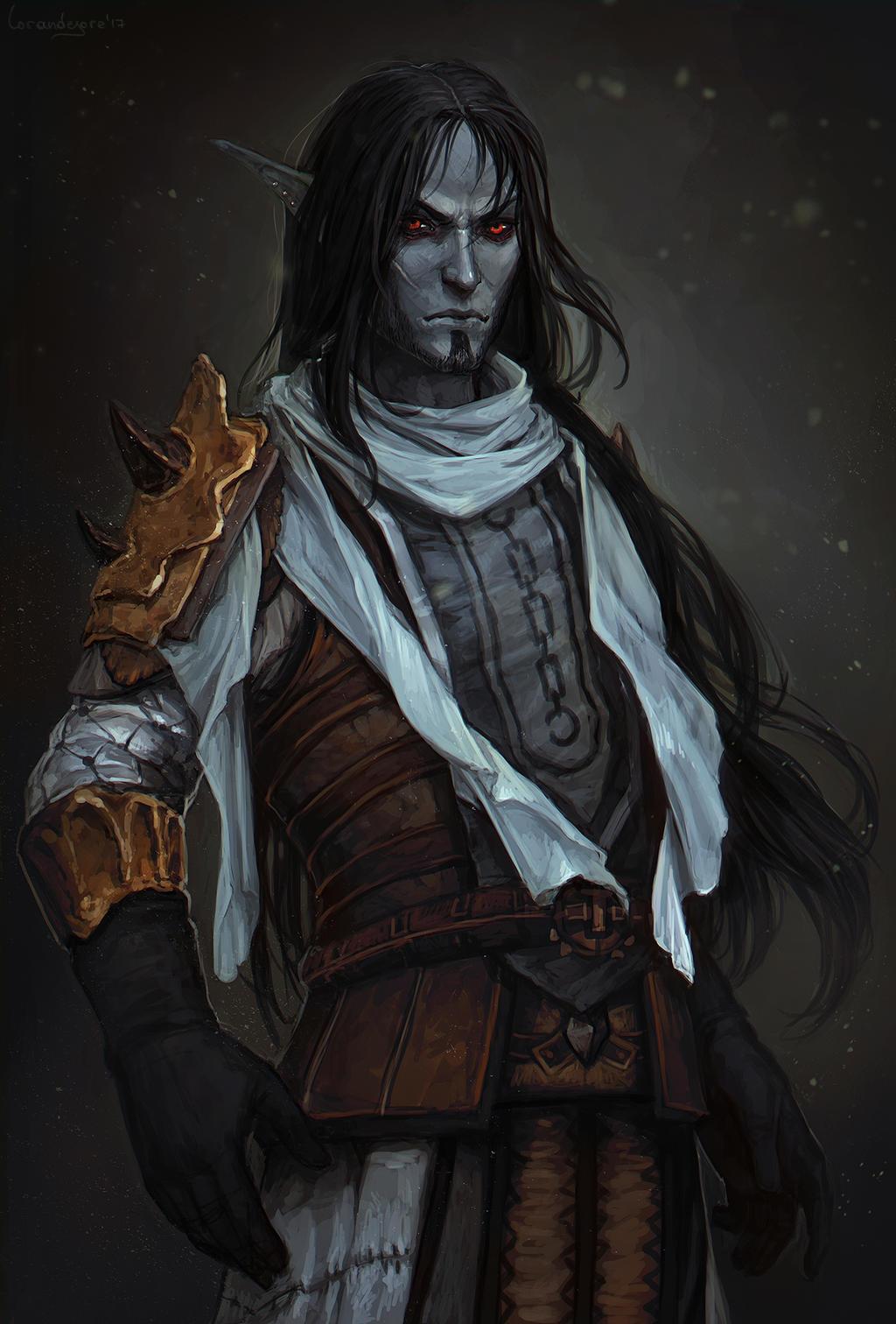 dark elf skyrim