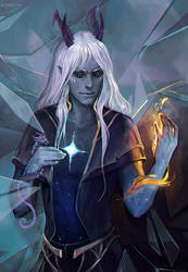 The Dragon Prince Aaravos