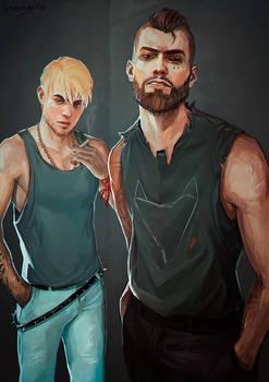 Daniel and Sean Diaz